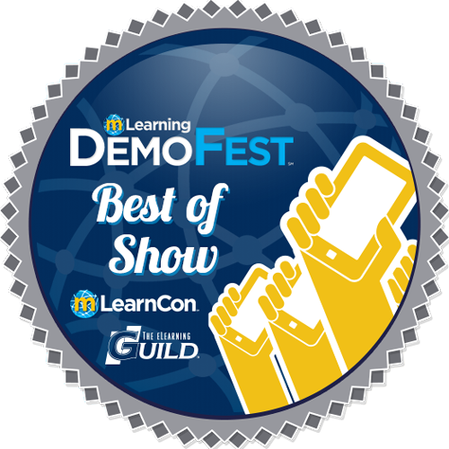 "mLearnCon 2014 DemoFest ""Best of Show"""